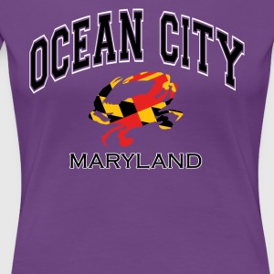 Ocean City Maryland Crab - Women's Premium T-Shirt