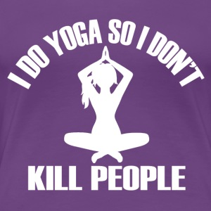 Yoga design for women - Women's Premium T-Shirt