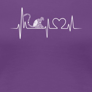 monkey heartbeat shirt - Women's Premium T-Shirt
