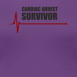 sudden cardiac arrest survivor - Women's Premium T-Shirt