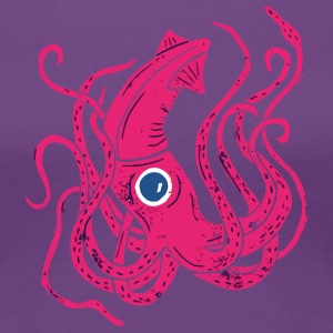 Giant Squid - Women's Premium T-Shirt