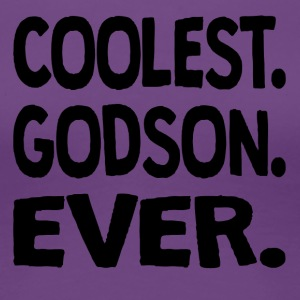 Coolest. Godson. Ever. - Women's Premium T-Shirt
