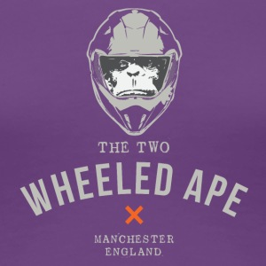 Two Wheeled Ape X design Light NEW - Women's Premium T-Shirt