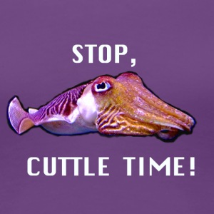 Cuttletime Cuttlefish design - Women's Premium T-Shirt