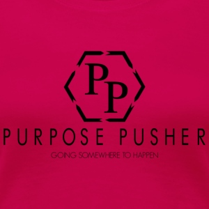 Purpose Pusher logo - Women's Premium T-Shirt