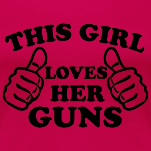 This Girl Loves Her Guns