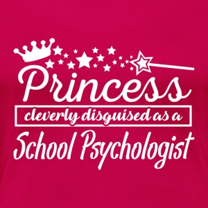 School Psychologist - Women's Premium T-Shirt