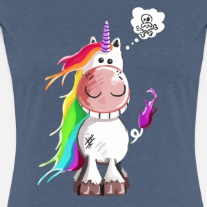 Funny Unicorn - Unicorns - Skull - Cartoon