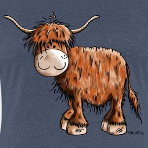 Scottish Highland Cattle - Cartoon - Fun - Gift