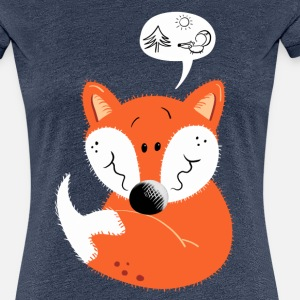 Cute red Fox - Forest - Animals - Gift - Funny