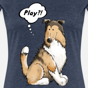 Play Collie - Dog - Dogs - Gift - Cartoon