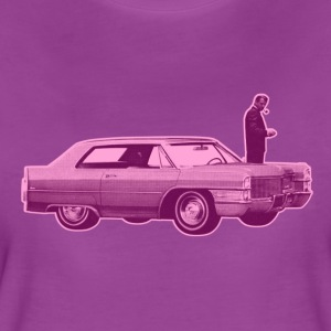 Shorty Cadillac Purple Pink - Women's Premium T-Shirt