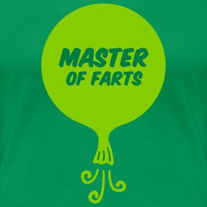 Master of Farts (2 color) - Women's Premium T-Shirt