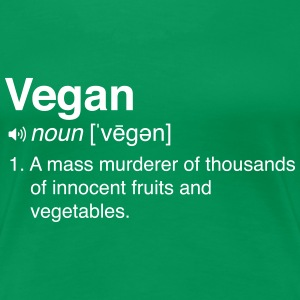 Funny Vegan Definition
