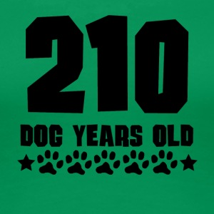 210 Dog Years Old Funny 30th Birthday - Women's Premium T-Shirt