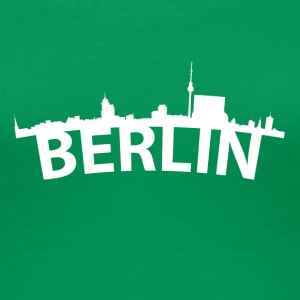 Arc Skyline Of Berlin Germany - Women's Premium T-Shirt