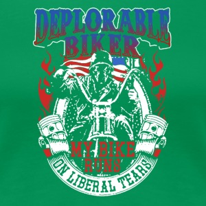 Deplorable Biker Tee Shirts - Women's Premium T-Shirt