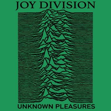 division unknown pleasures albums Song Lyrics Logo Women's Premium T