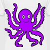 purple octopus - Toddler Premium T-Shirt