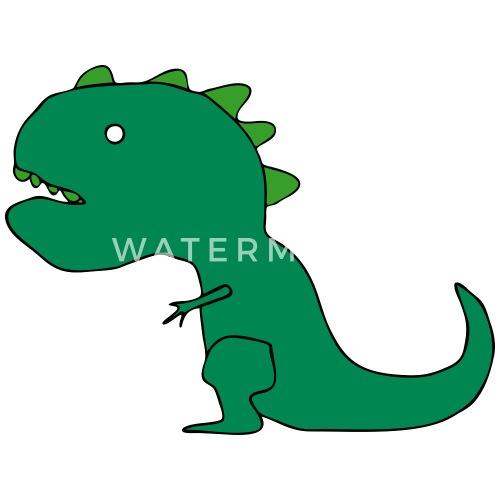 t rex dinosaur cartoon drawing by azza1070 spreadshirt