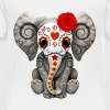 Red Sugar Skull Elephant - Toddler Premium T-Shirt