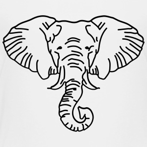 elephant safari africa animal - Toddler Premium T-Shirt