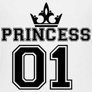 Princess_with_crown_01 - Toddler Premium T-Shirt