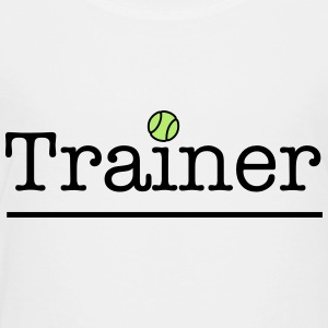 tennis trainer - Toddler Premium T-Shirt