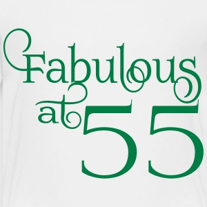 Fabulous at 55 - Toddler Premium T-Shirt