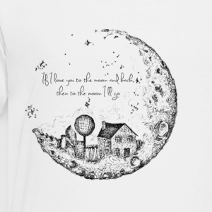 House On The Moon - Toddler Premium T-Shirt