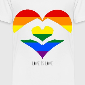 Love is Love - Toddler Premium T-Shirt