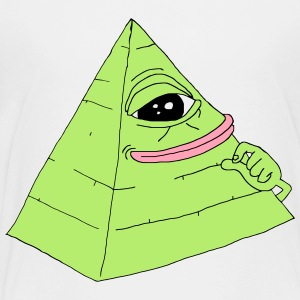Pyramid Pepe the Frog - Toddler Premium T-Shirt