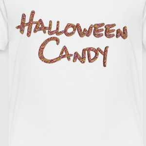 halloween candy shirt - Toddler Premium T-Shirt