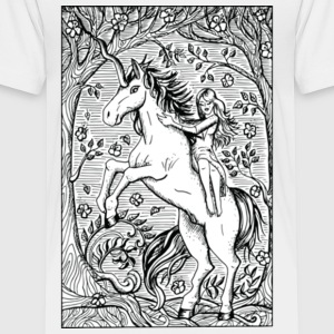 Unicorn Ride A Horse Gift Shirt Preminium - Toddler Premium T-Shirt