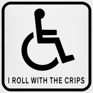I Roll With the Crips - Toddler Premium T-Shirt