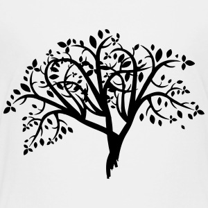 Tree Illustration - Toddler Premium T-Shirt