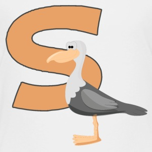 S Is For Seagull - Toddler Premium T-Shirt