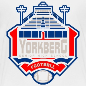 YORKBERG SENIOR HIGH SCHOOL FOOTBALL - Toddler Premium T-Shirt