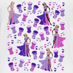 Purple Belly Dancer - Toddler Premium T-Shirt