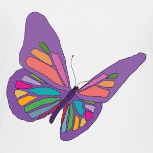 Beautiful Purple Butterfly - Toddler Premium T-Shirt