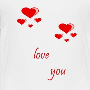love you - Toddler Premium T-Shirt