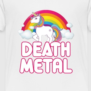 Unicorn Death Metal - Toddler Premium T-Shirt