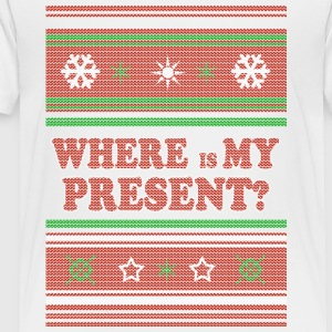 Where is my Present CHRISTMAS SWEATER - Toddler Premium T-Shirt