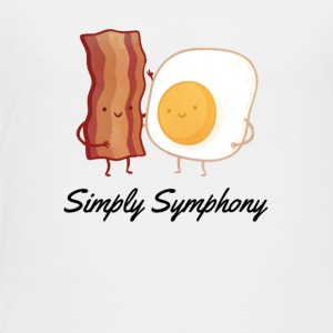 Eggs and bacon - Toddler Premium T-Shirt