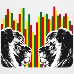 Reggae lions, lions of judah - Toddler Premium T-Shirt