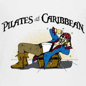 Pilates of the Caribbean - Toddler Premium T-Shirt