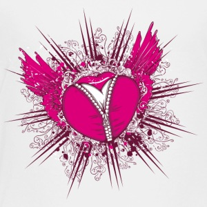heart wings jewelry lock love - Toddler Premium T-Shirt