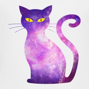 space cat - kitten kitty cat galaxy love pet - Toddler Premium T-Shirt