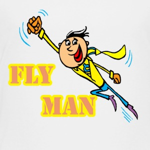 fly man - Toddler Premium T-Shirt