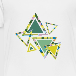 abstract triangles - Toddler Premium T-Shirt